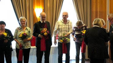 Jubilarehrung 2018 des Bezirk Rostock