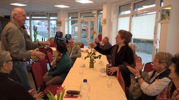 Auftritt des Chores Nadeshda bei der Seniorengruppe Südstadt/Stadtmitte
