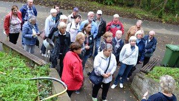 Verdi-Seniorengruppe zu Besuch in einer Pilzmanufaktur